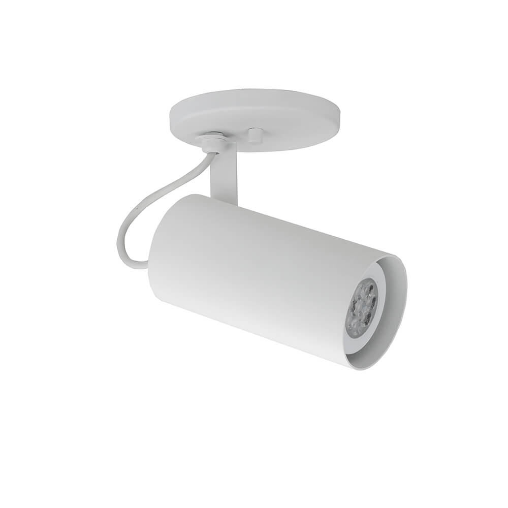 Spot Canopla Newline IN55635 Lisse II Foco Ajustável 1L PAR20 E27 165x150x140mm - Com Canopla
