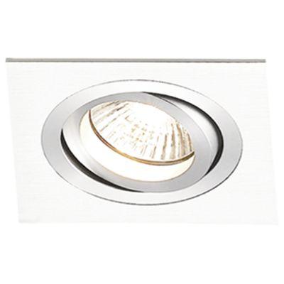 Spot Bella NS5301B Embutir Ecco 1L PAR30 E27 Bivolt 17x17x12cm Branco