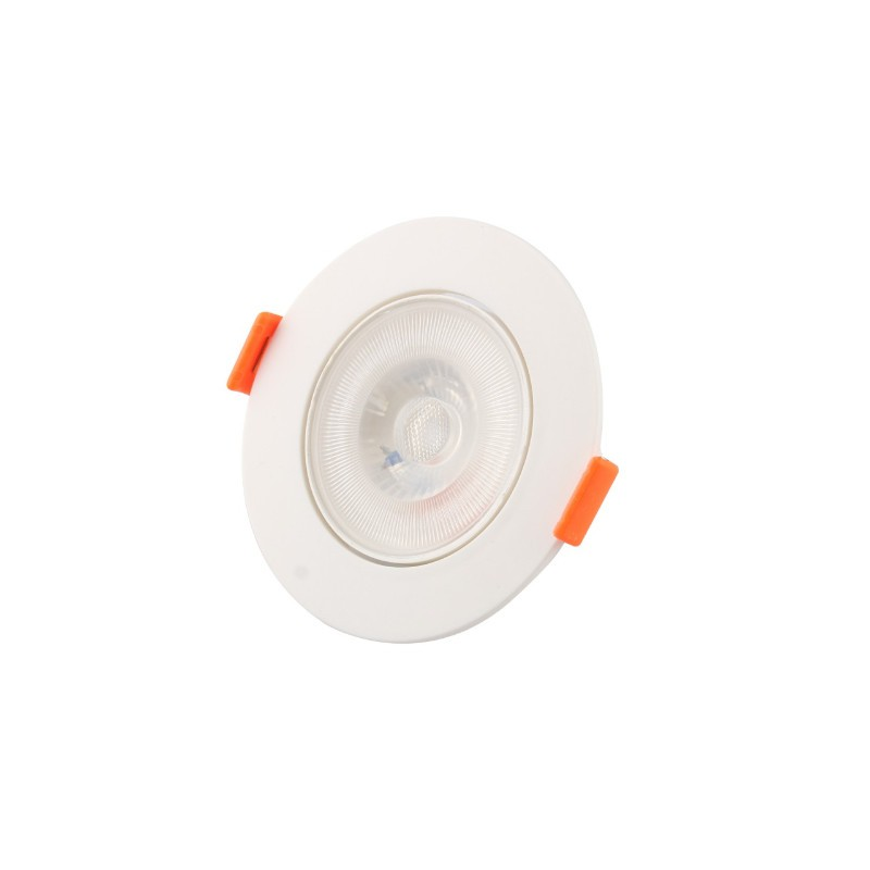 Spot Embutir LED Ecoforce 18540 Redondo 5W 6500K IP20 Bivolt Ø85,8x25mm