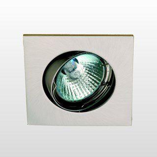 Spot Embutir LLUM KHD0383 1L Dicróica/PAR16 GU10 50w 127v 83x83x80mm (Lâmpada Halógena Inclusa)