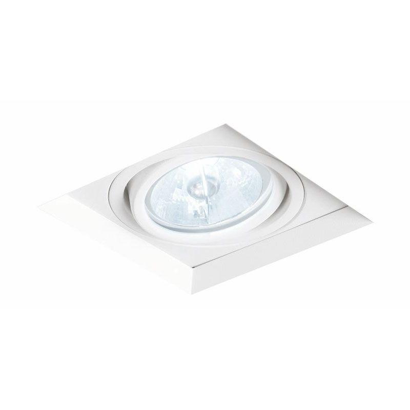 Spot Embutir NEWLINE IN61351 NO FRAME II 1 AR111 GU10 136x136x100mm