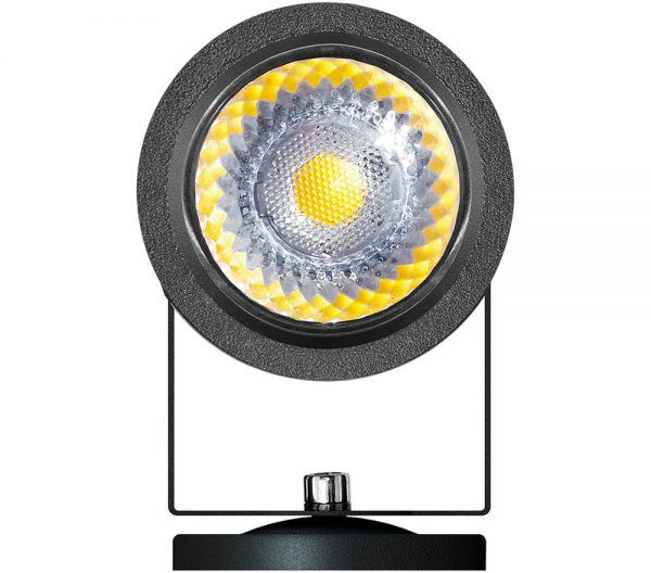 Spot Externo LED Brilia 302594 IP67 8W 2700K 30G Bivolt 56x85mm - Preto