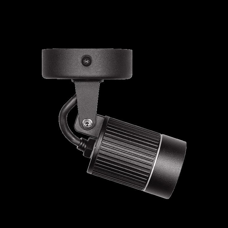 Spot LED Stella STH7701/30 Focco 7W 3000K IP65 Bivolt - Preto