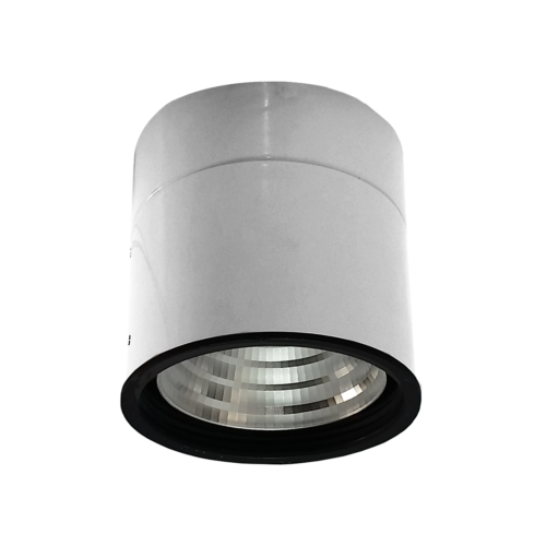 Spot Sobrepor LED Power Lume DLA-SPB50W Downlight 50W 24V IP40 Ø153x153x165mm