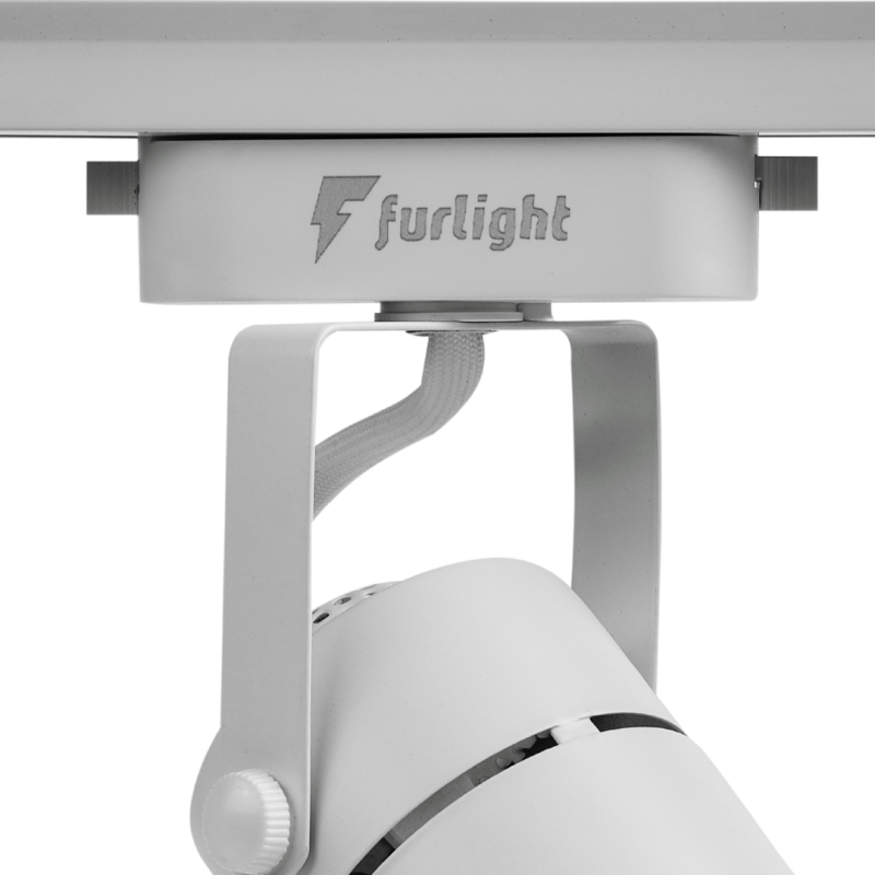 Spot Trilho Furlight FL3015 Dicróica PAR16 GU10 Branco