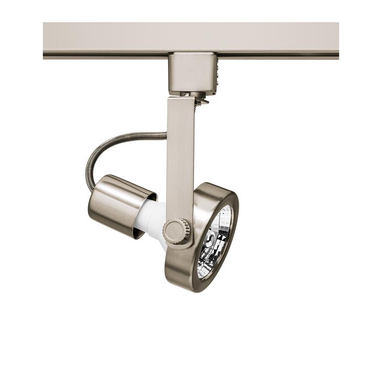 Spot Para Trilho Eletrificado Stella SD1170ST AR70 1L GU10 AR70 Ø75x155mm - Satin Silver