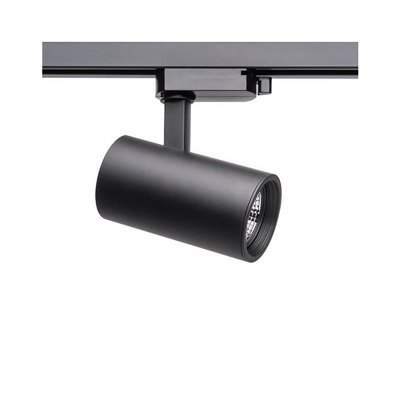 Spot Para Trilho Eletrificado Stella SD1710PTO Zylinder 1L MR16 Dicróica/PAR16 GU10 120x120mm - Preto