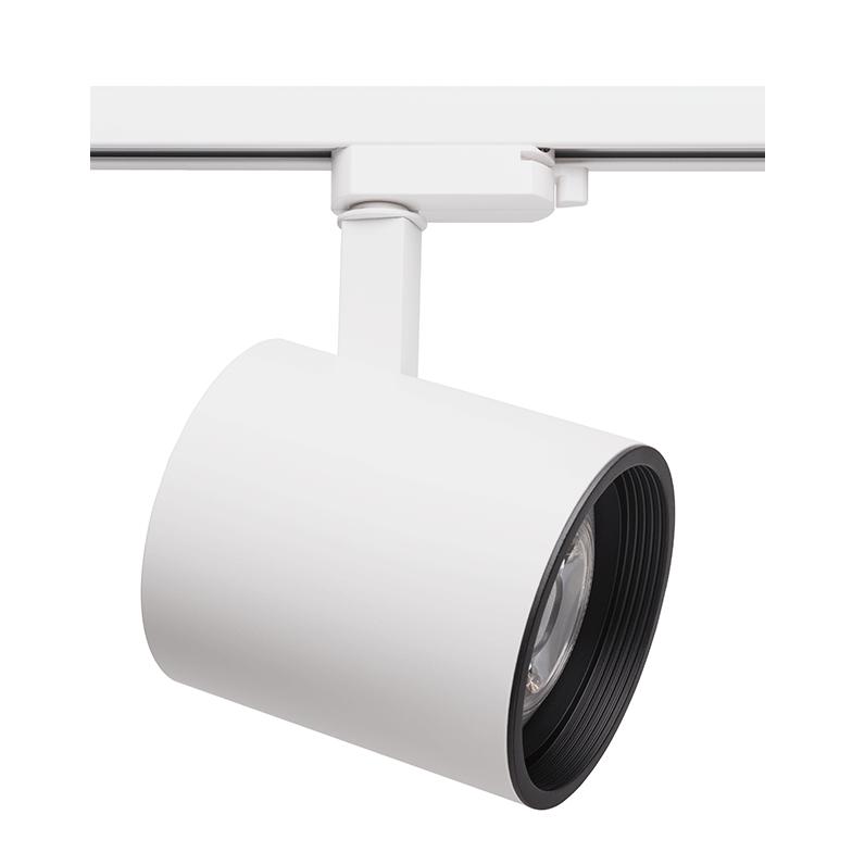 Spot Para Trilho Eletrificado Stella SD1730BR Zylinder 1L E27 PAR30 132x188mm - Branco