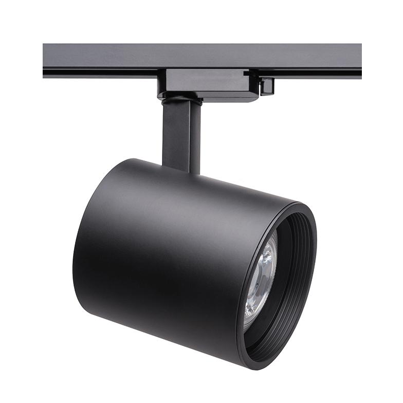 Spot Para Trilho Eletrificado Stella SD1730PTO Zylinder 1L E27 PAR30 132x188mm - Preto
