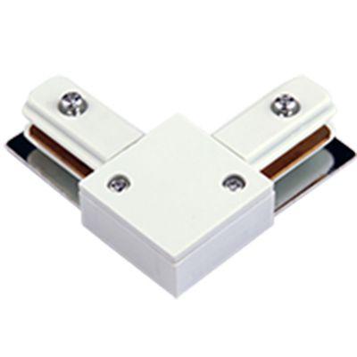 Conector L Bella Para Trilho DL024B Branco