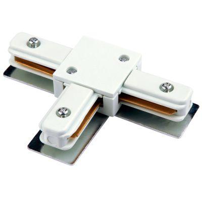 Conector T Bella Para Trilho DL025B Branco