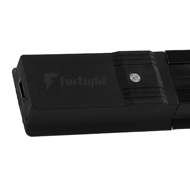 Trilho Eletrificado Furlight FL3001 50cm Preto