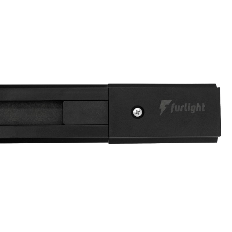 Trilho Eletrificado Furlight FL3003 100cm Preto
