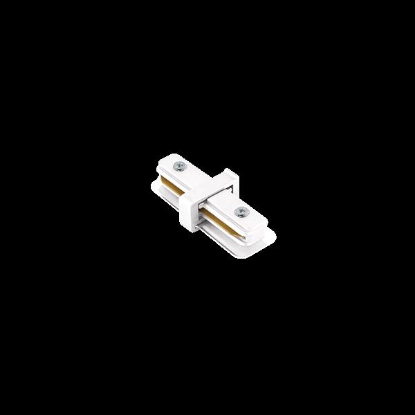 """Conexão """"I"""" Para Trilho Eletrificado Sobrepor Stella SD1043BR - Branco"""