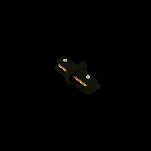 """Conexão """"I"""" Para Trilho Eletrificado Sobrepor Stella SD1043PTO - Preto"""