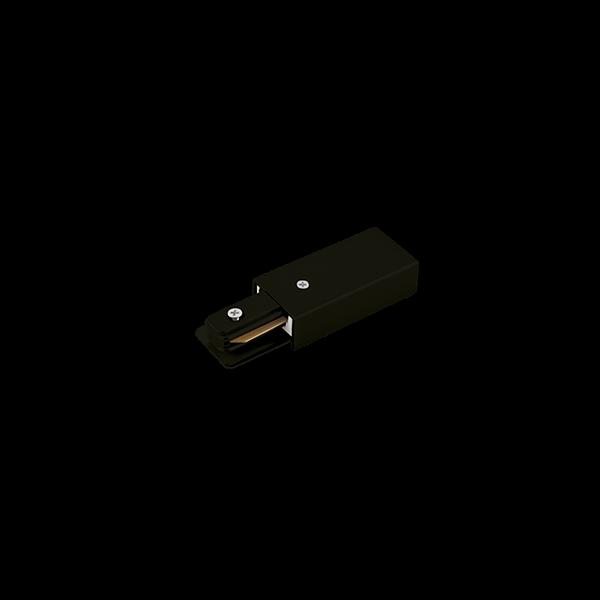 Alimentador Para Trilho Eletrificado Sobrepor Stella SD1046PTO - Preto
