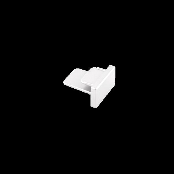 Ponteira Para Trilho Eletrificado Sobrepor Stella SD1047BR - Branco