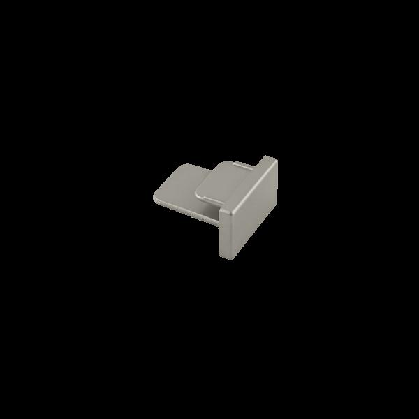 Ponteira Para Trilho Eletrificado Sobrepor Stella SD1047ST - Satin Silver