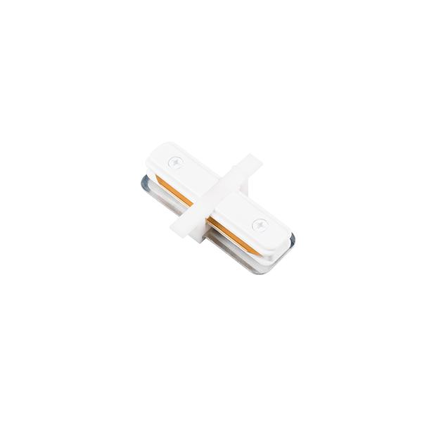 """Conexão """"I"""" para Trilho Eletrificado Embutir Stella SD1205BR - Branco"""