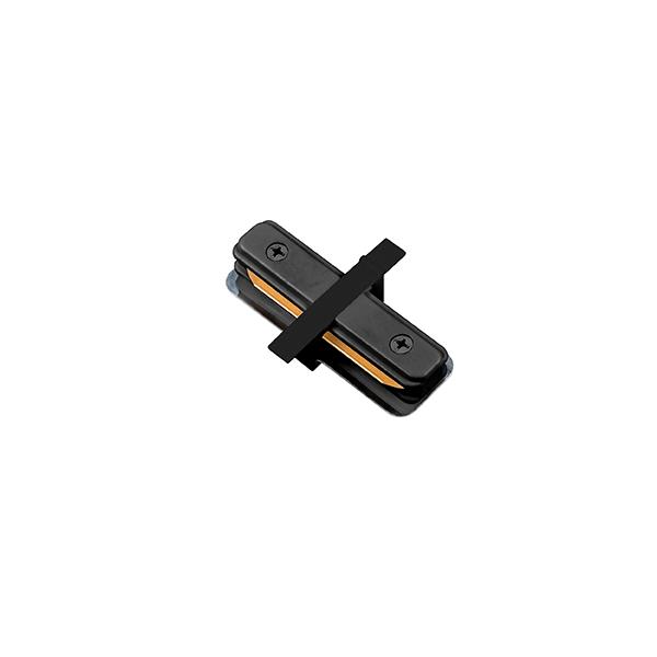 """Conexão """"I"""" Para Trilho Eletrificado Embutir Stella SD1205PTO - Preto"""