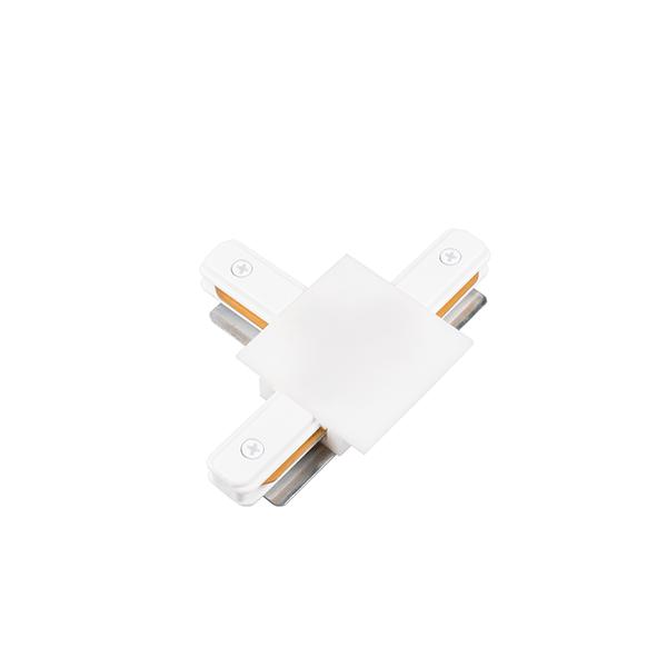 """Conexão """"T"""" Para Trilho Eletrificado Embutir SD1207BR - Branco"""