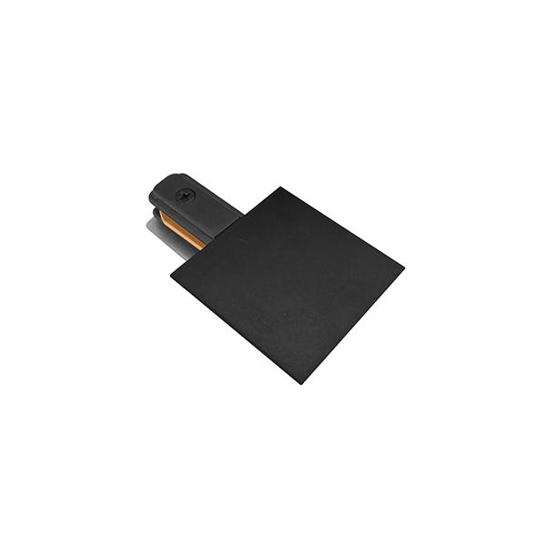 Alimentador Para Trilho Eletrificado Embutir Stella SD1208PTO - Preto