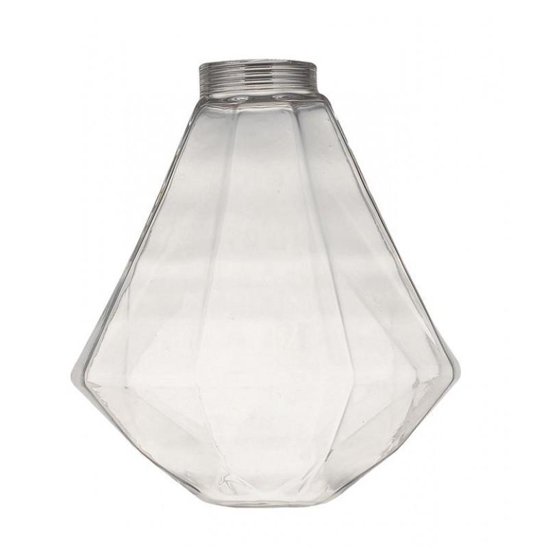 Vidro Casual Light Quality VD811-TR Diamante Ø125x140mm Transparente