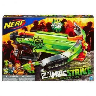 Atirador Lançador De Dardos Nerf Zombie Crossbow Hasbro
