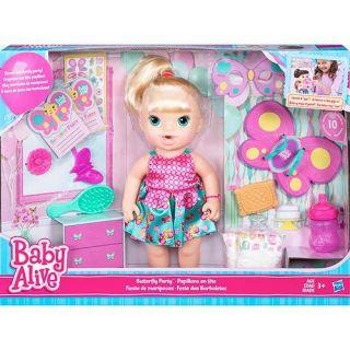 Baby Alive Borboletinha Loira Hasbro