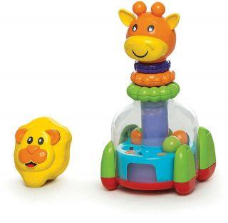 Baby Mix Argolas Leão E Girafa Calesita