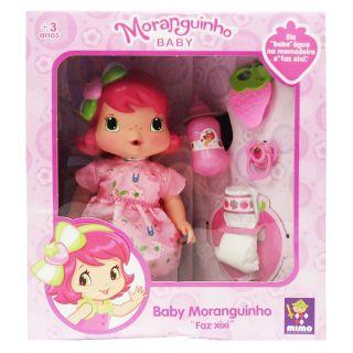 Baby Moranguinho Faz Xixi Mimo Brinquedos