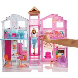 Barbie Real Super Casa 3 Andares