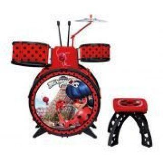 Bateria Infantil Miraculous Ladybug