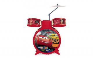 Bateria Musical Infantil Carros 3 Toyng