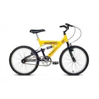 Bicicleta Aro 20 Masculina Eagle Amarela E Preta Verden