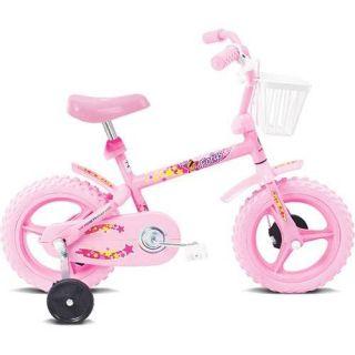 Bicicleta Infantil Verden Fofys Aro 12 Rosa