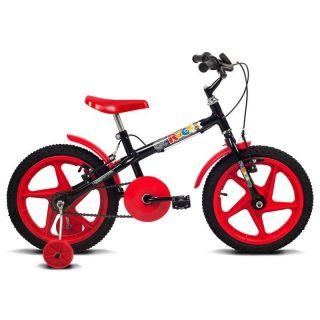 Bicicleta Verden Bikes Rock Aro 16 Preto E Vermelha