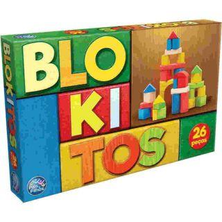 Blokitos 26 Peças Pais E Filhos