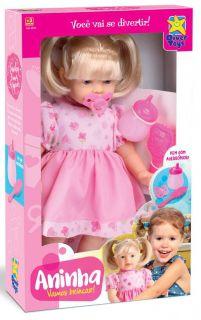 Boneca Aninha Vamos Brincar Diver Toys