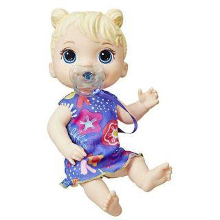 Boneca Baby Alive Primeiros Sons Loira Hasbro