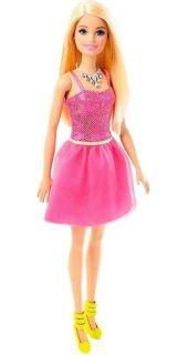 Boneca Barbie Básica Glitz Barbie Loira Mattel