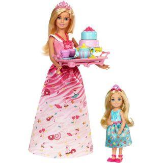 Boneca Barbie Fantasia Festa Do Cha Mattel