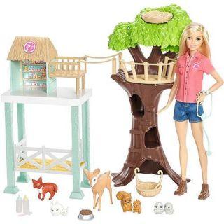 Boneca Barbie Profissao Cuidadora De Bichinhos Mattel