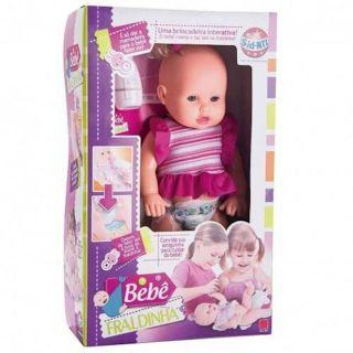Boneca Bebê Fraldinha Sid Nyl