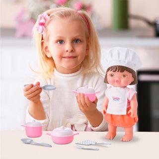 Boneca Dora Mini Chef Bambola