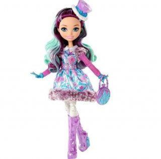Boneca Ever After High Feitico Inverno Madeline Hatter Mattel