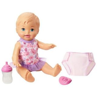Boneca Little Mommy Bebe Faz Xixi