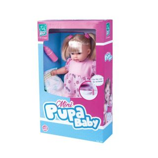 Boneca Mini Pupa Baby Super Toys
