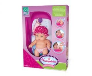 Boneca Nenequinha Chuveirinho Super Toys