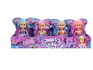 Boneca Sparkle Girlz Mini Fada Dtc